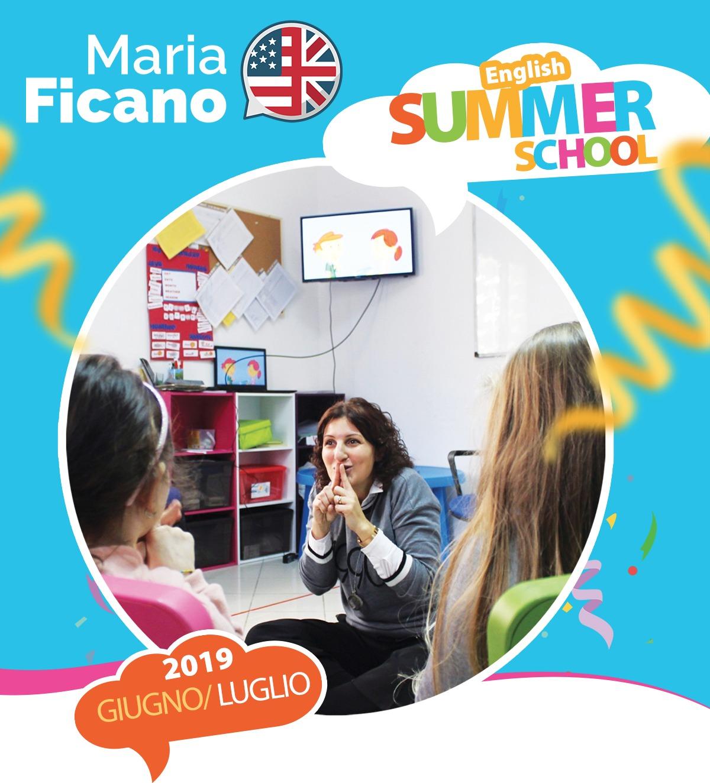 inglese, summer school, maria ficano, altavilla milicia