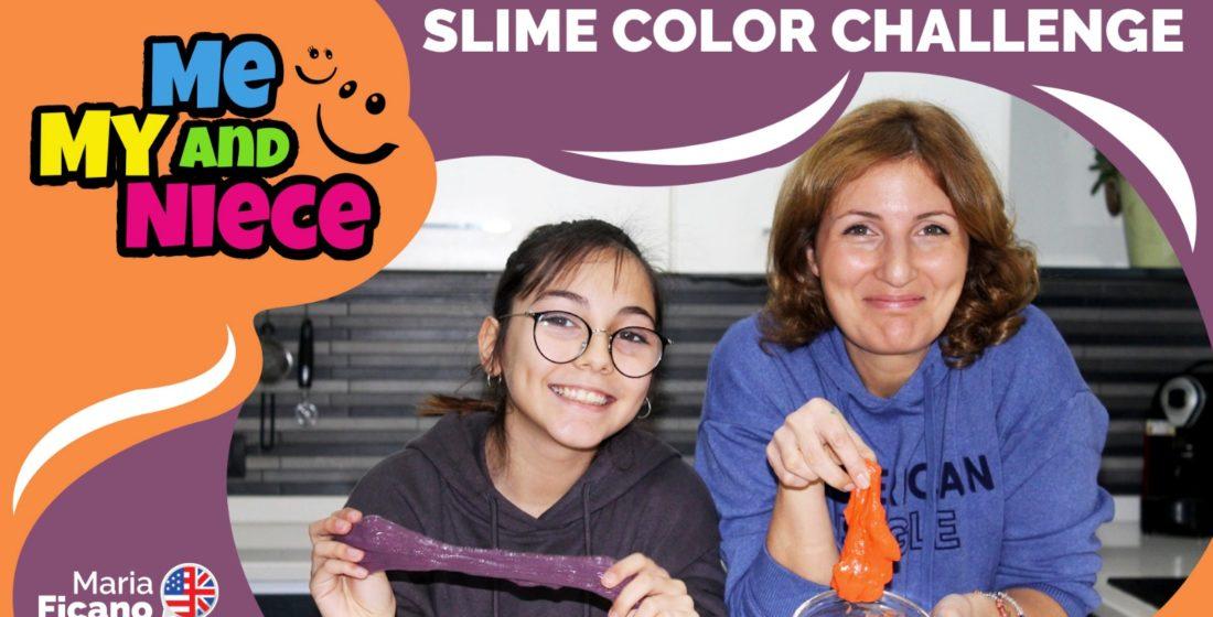 slime color challenge