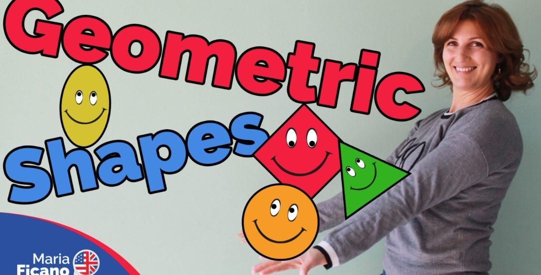 geometric shapes inglese maria ficano forme geometriche bambini