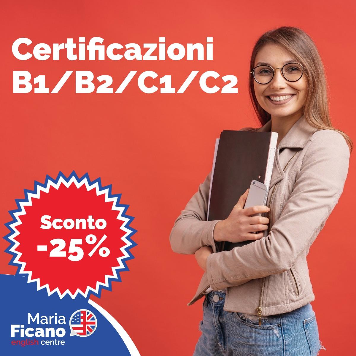 promo inglese corso certificazione b1 b2 c1 c2