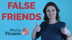 false friends, inglese, italiano, maria ficano, madrelingua