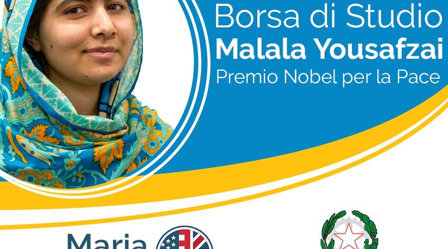 borsa studio, inglese, Malala Yousafzai, maria ficano english centre, termini imerese